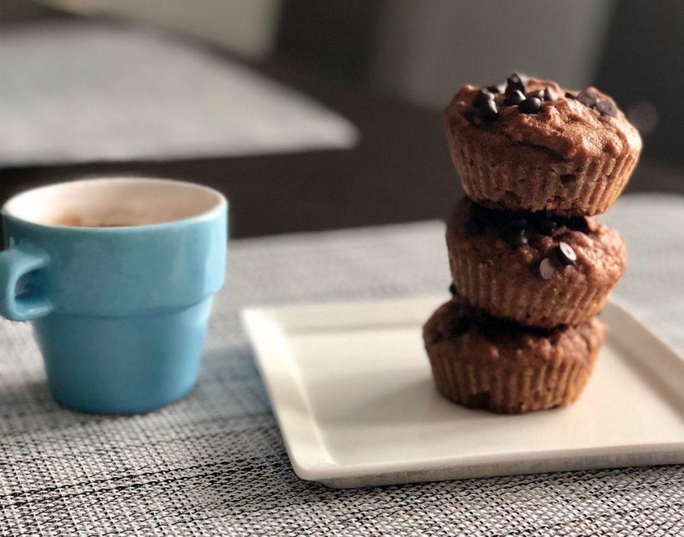 ořechovo-skořicové muffiny bez lepku