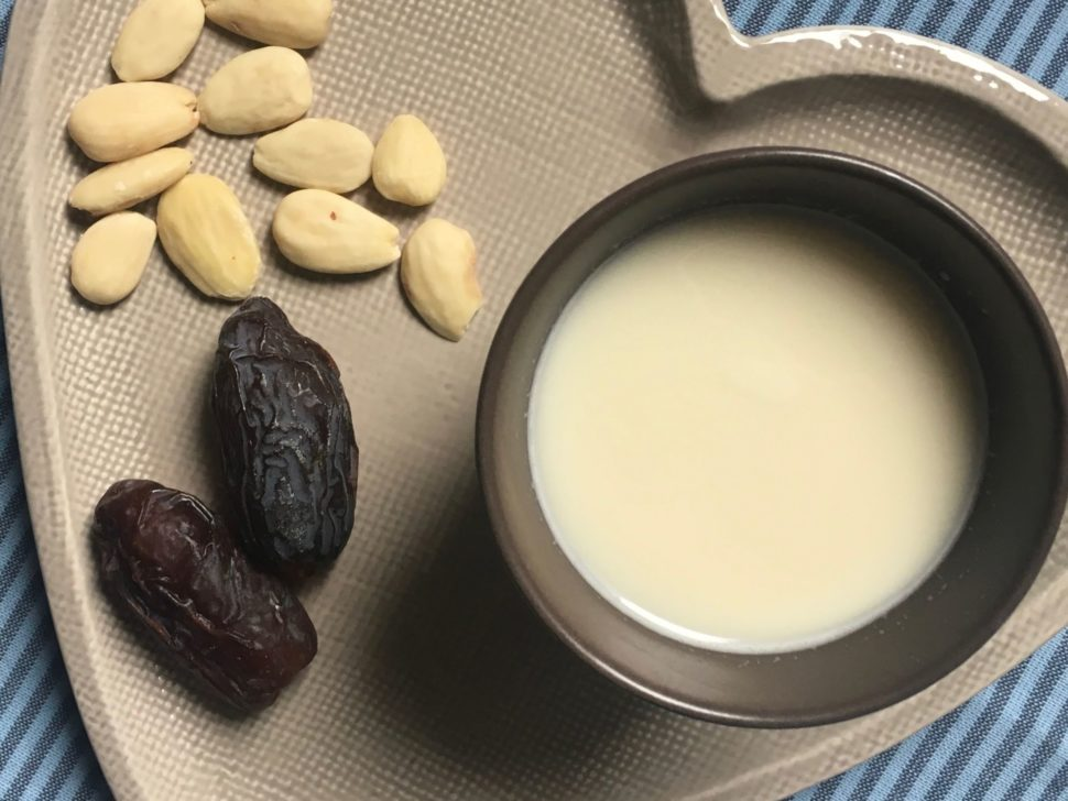 Mandlové mléko bez cukru