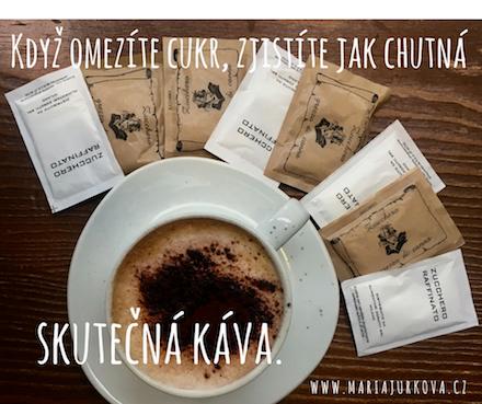 Zkuste si kávu osladit méně, je to jen zvyk a brzy oceníte skutečnou chuť kávy