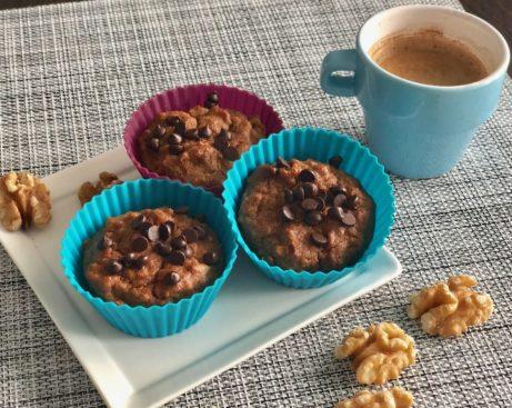zdravé svařinka pro VAše děti - ořechové muffiny.