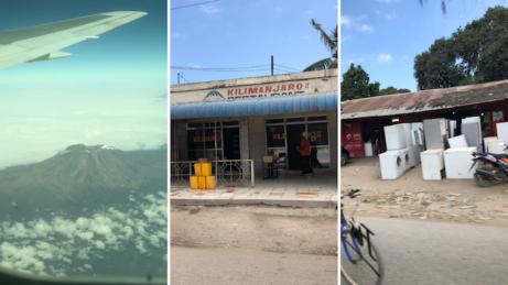 Kilimangiaro zletadla aprvní fotky cestou naZanzibar